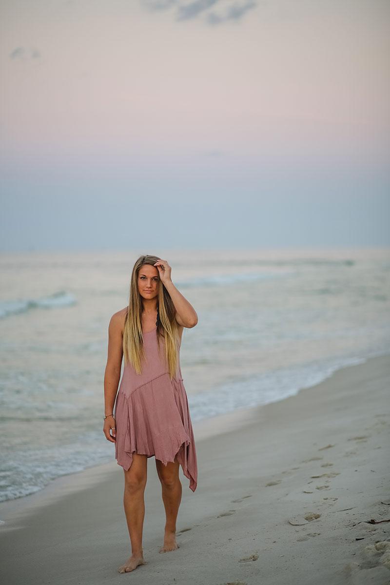 Senior Portraits Gulf Shores Beach Photography Beach Club Fort Morgan photographer
