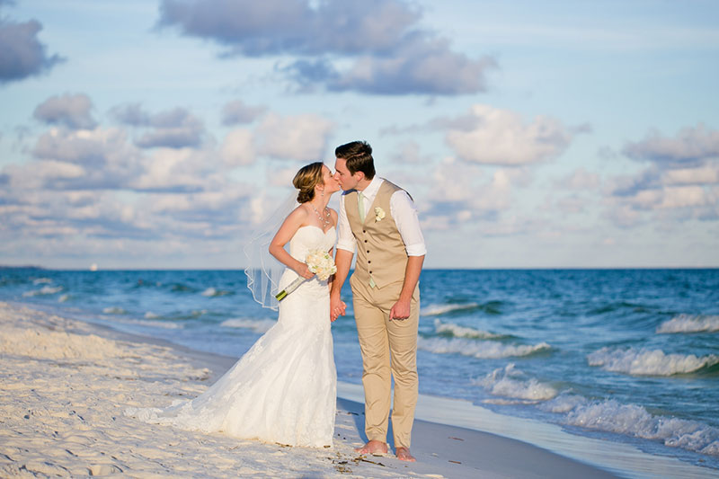 Beach Wedding Photographer Wedding on the beach Pensacola Gulf Shores Photographer Navarre Beach Photography