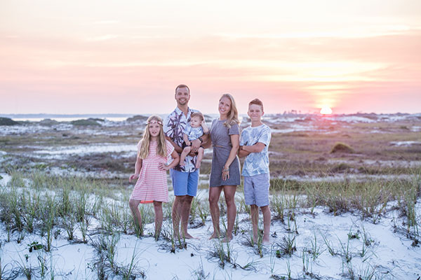 family beach portraits pensacola beach destin florida photographer