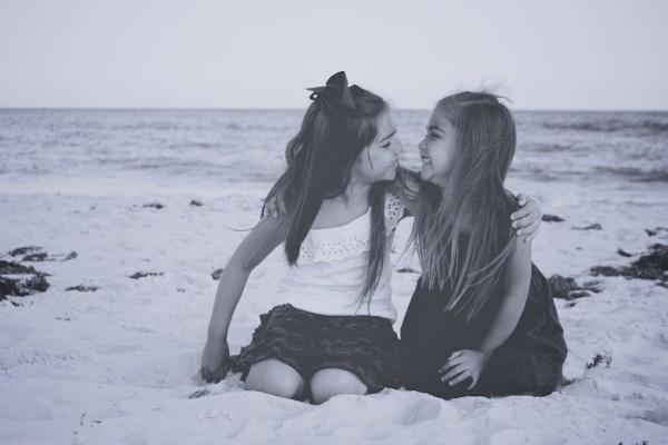 Sweet Sisters On The Beach Gulf Shores Photographer Gulf State Park Pier Gulf Shores Photographers Orange Beach Portraits