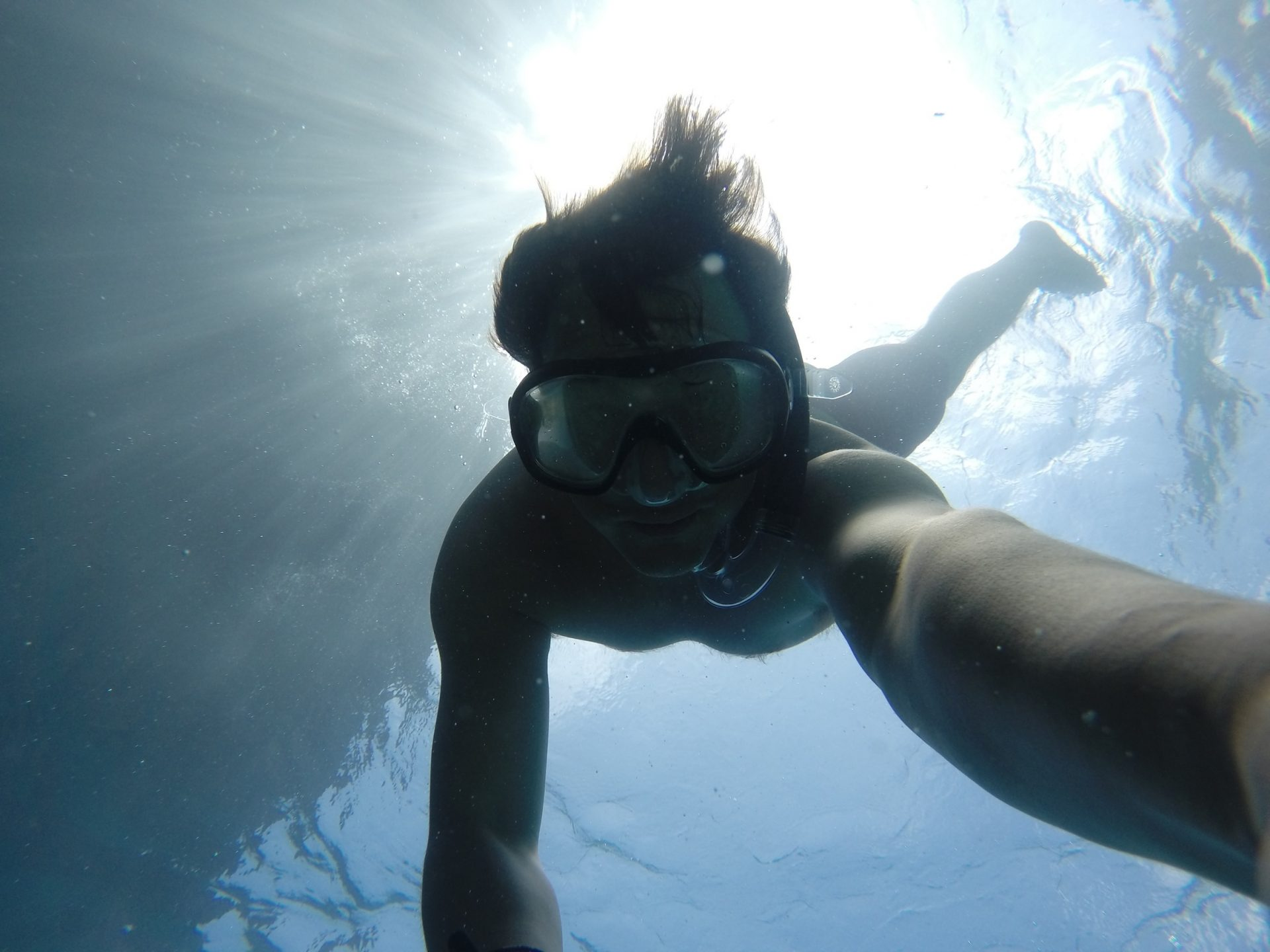 Snorkeling-underwater