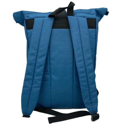Rear image of Blue 20L Recycled Backpack