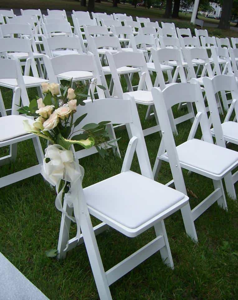 wedding chair rentals wayfair outdoor rocking cushions ultimate guide to tent table