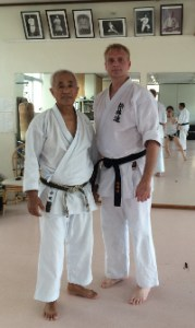 David Sensei with Sensei Tamake