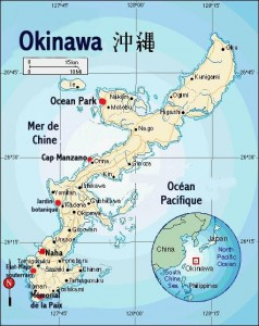 Carte Okinawa