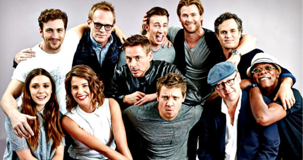 The Cast of Avengers