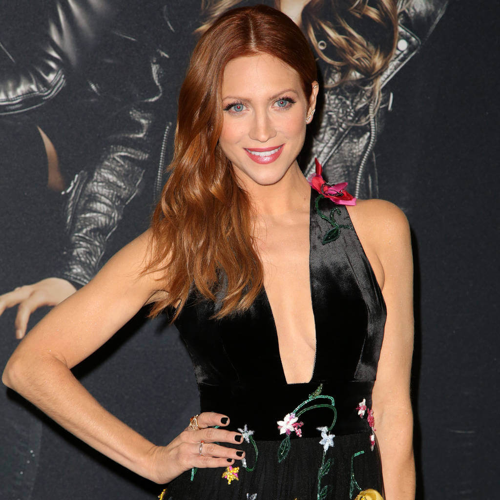 Actress Brittany Snow