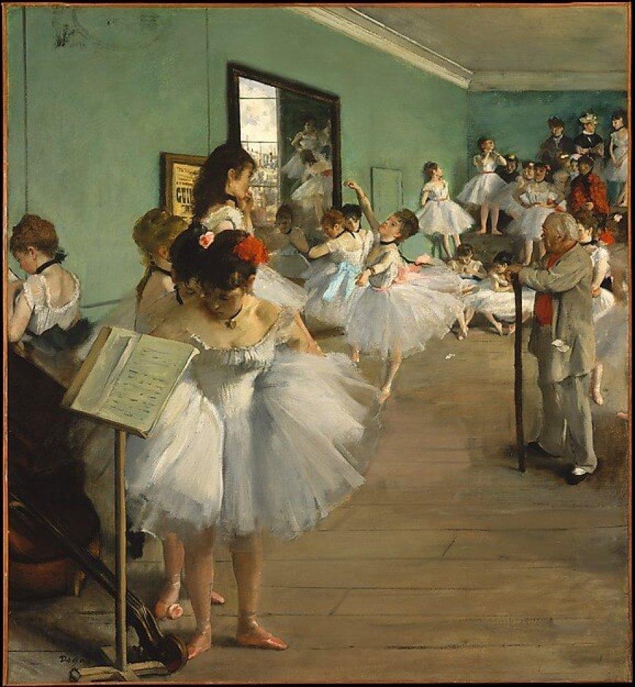 Edgar Degas-The Dance Class
