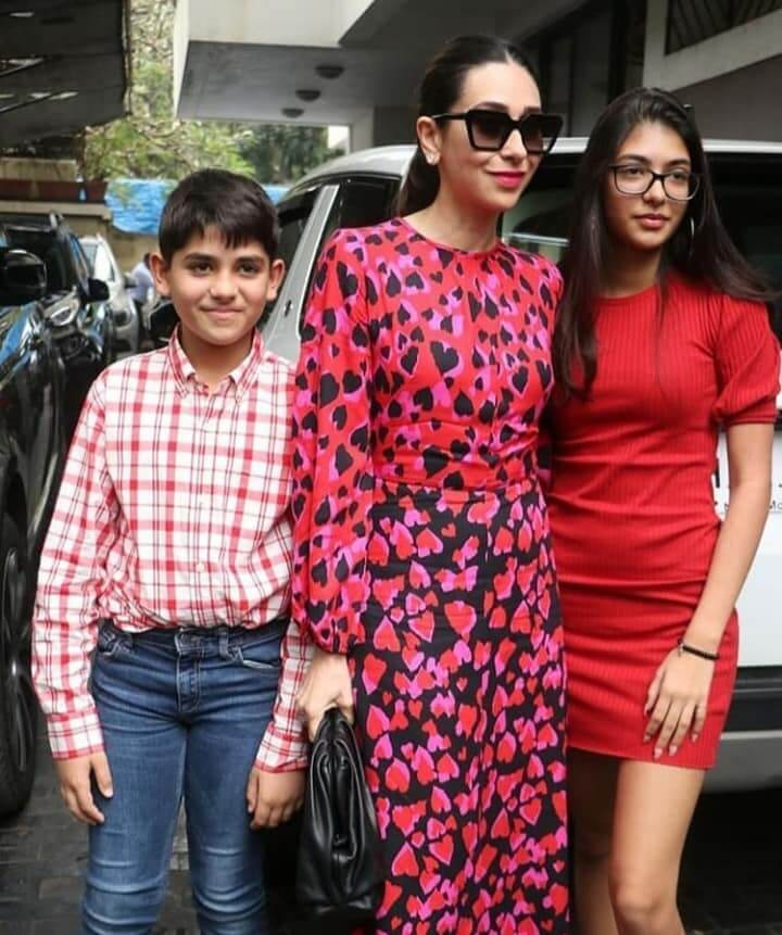 Kiaan, Karishma & Samaira Kapoor