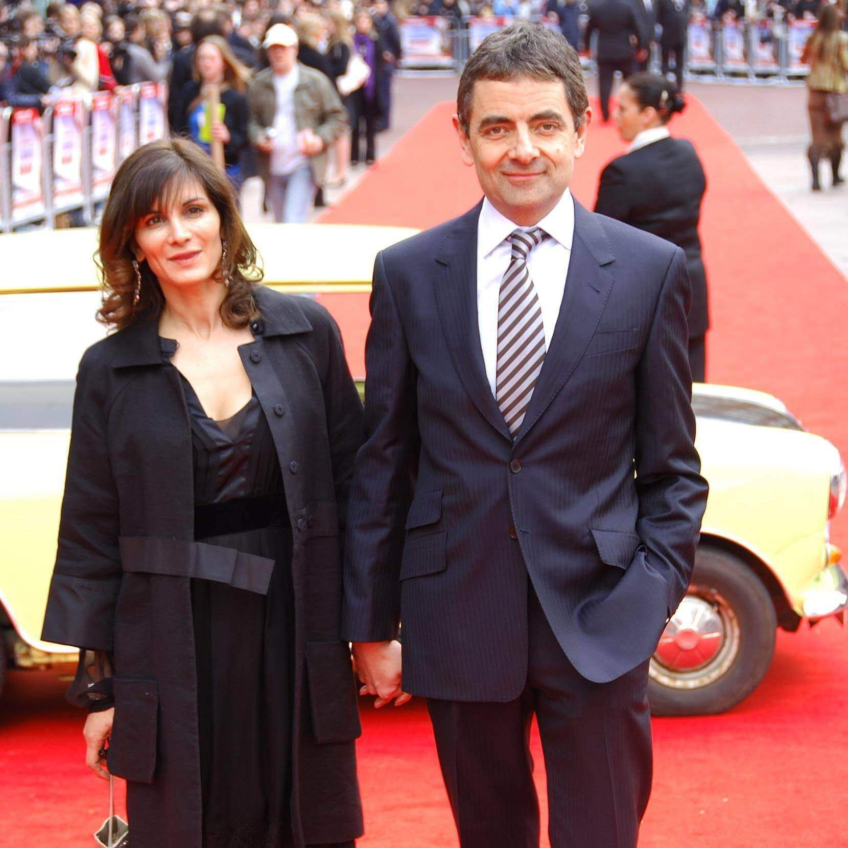 Mr Bean with Sunetra