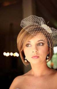 20 Wedding Hairstyles for Short Hair