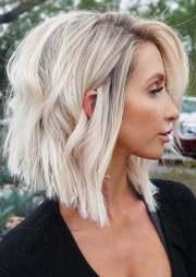 popular short blonde hairstyles