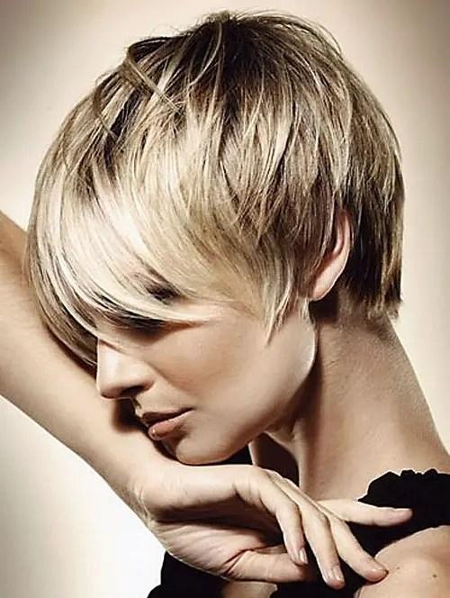 Beautiful Short Blonde Hairstyles