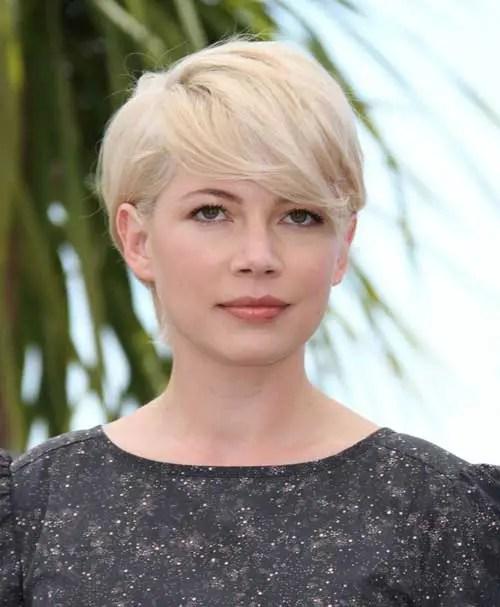 Short Blonde Celebrity Hairstyles