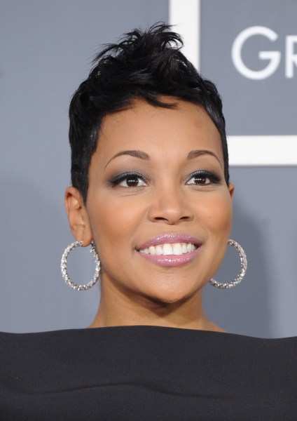 Short Natural Hairstyles For Black Women 2013 Short