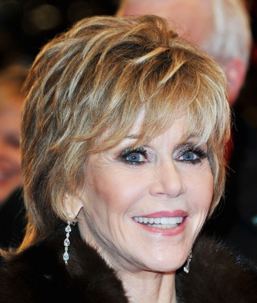 Short Shaggy Hairstyles for Women Over 50 with Thick Hair ...