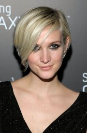 celebrity with short pixie