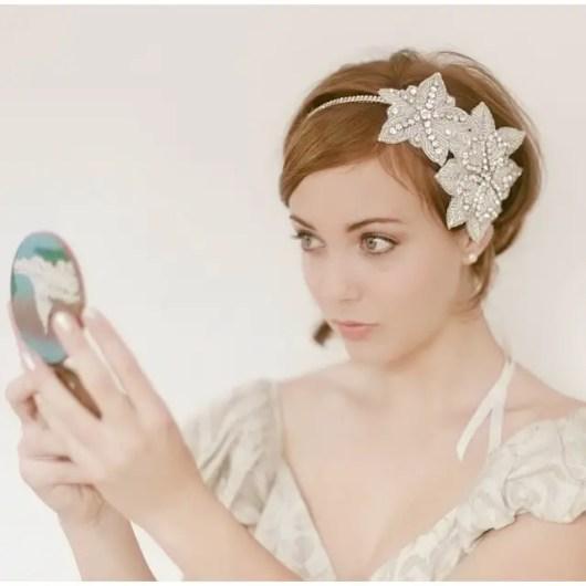 Beautiful Short Wedding Hairstyles 2015