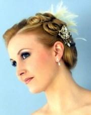 short hairstyles bridesmaid
