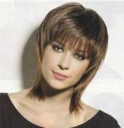 trendy short shag hairstyles