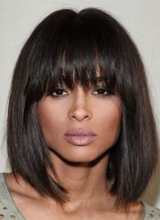 shaggy-bangs-hairstyle-black-women