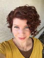 awesome short curly hairstyles