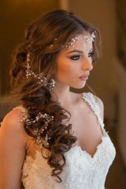 wedding hairstyles with vine