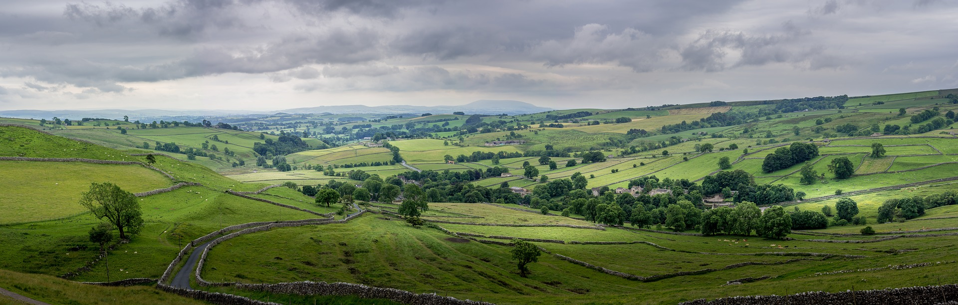 Malham in Yorkshire by Tim Hill