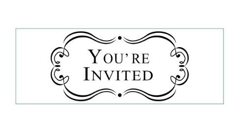 YOU'RE INVITED!!!