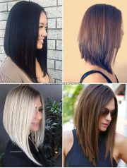 sexy long bob hairstyles