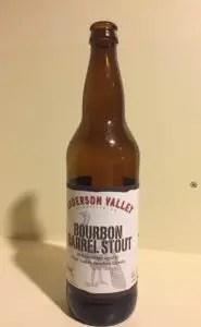 Anderson Valley Bourbon Barrel Stout - Yum