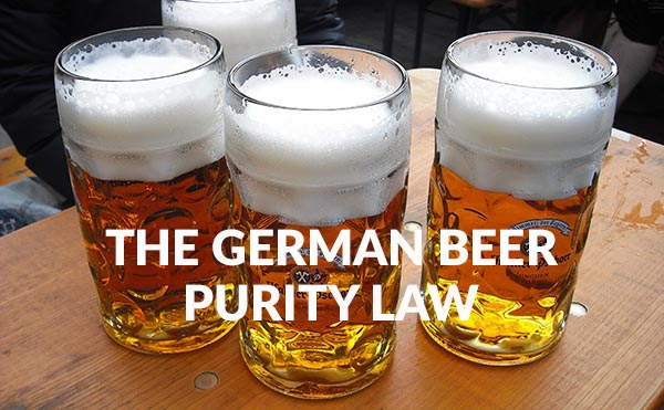 The German Beer Purity Law