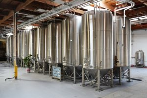 Boochcraft brewing tanks