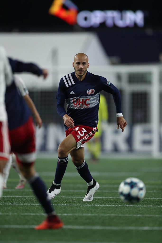 Tiago Mendonca playing for Revolution II