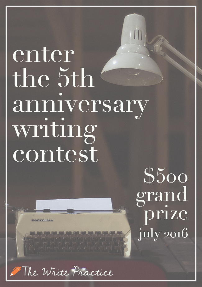5th Anniversary Writing Contest portrait