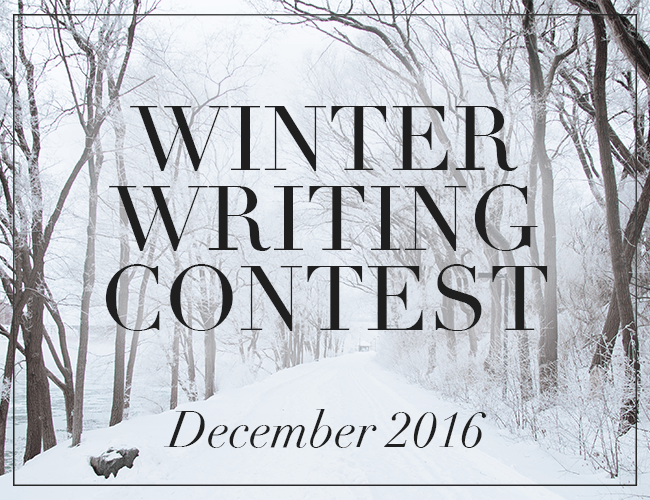 2016 Winter Writing Contest