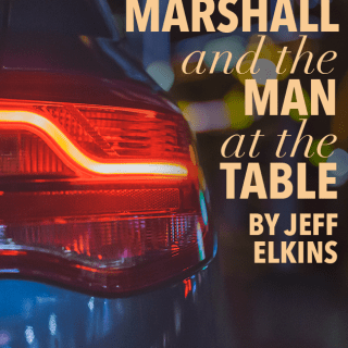 Marshall and the Man at the Table