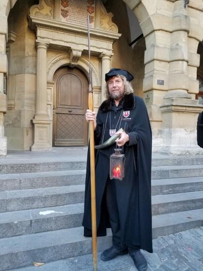 Nightwatchman tour Rothenburg