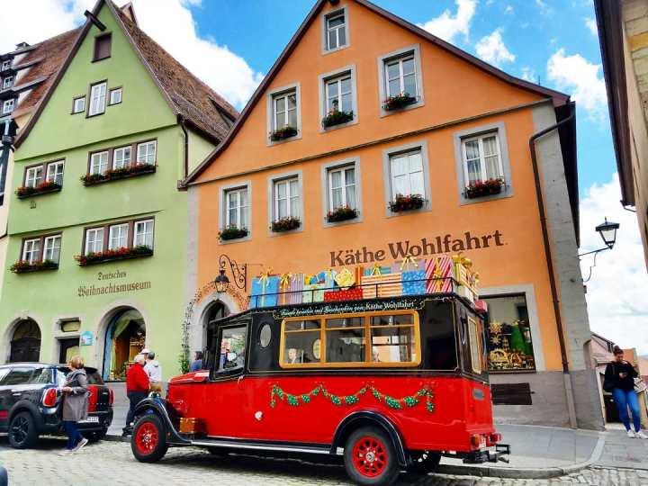Christmas shop at Rothenburg