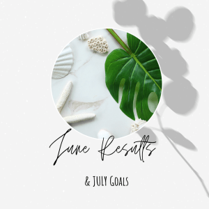 June Results & July Blog Goals 2020