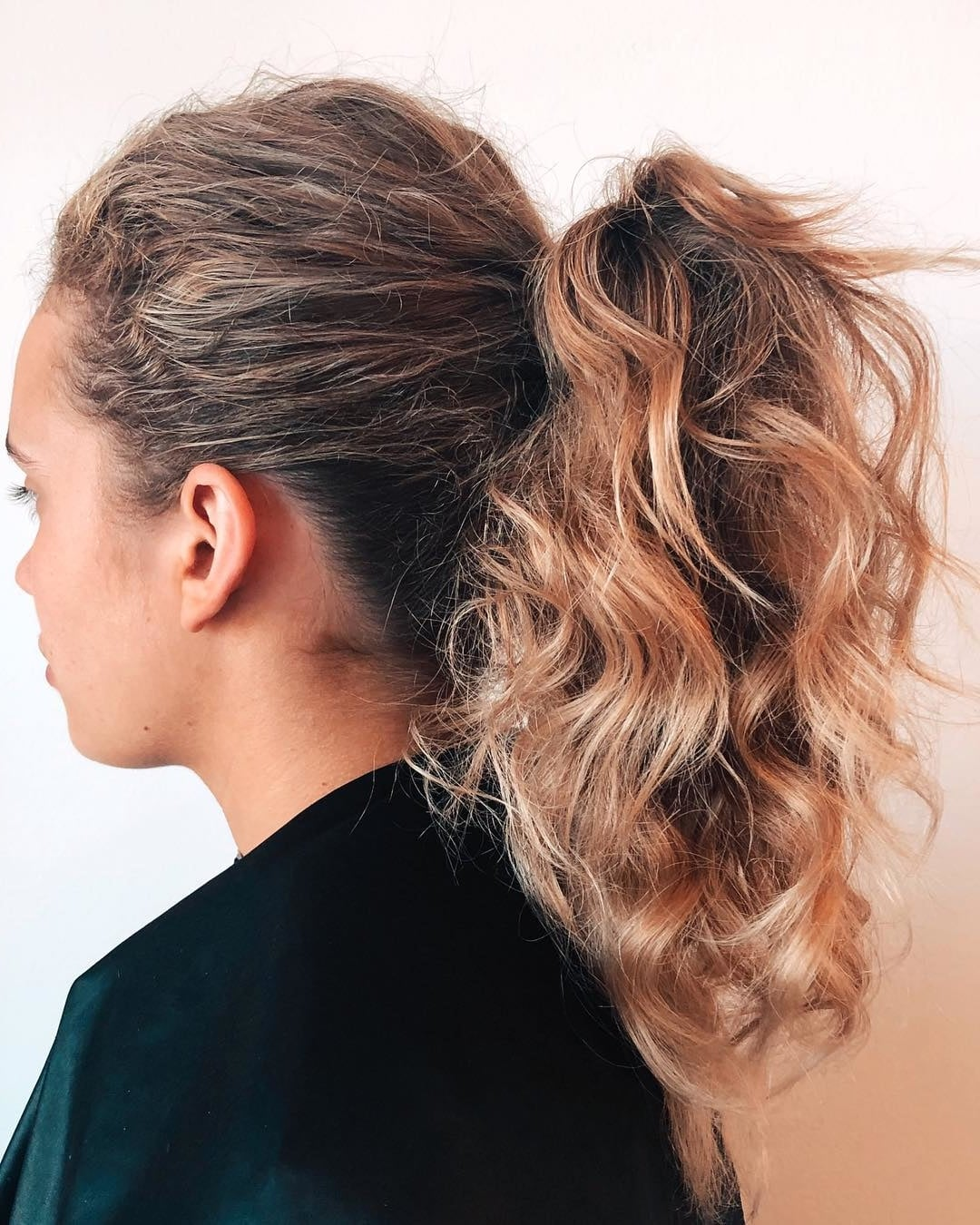 hairstyles for short hair ponytail