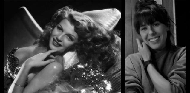 Left: Rita Hayworth via Gilded Gypsies Vintage | Right: Brittney Scott