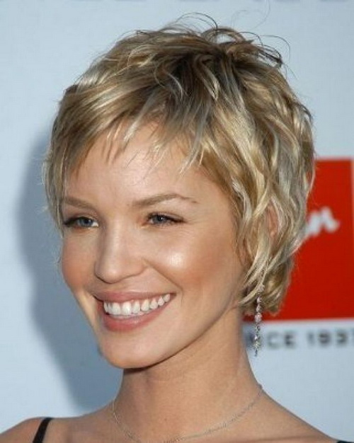 Pixie Short Shaggy Hairstyles 2014