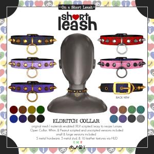 Short Leash Eldritch Collar ad