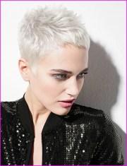 short pixie cuts grey hair