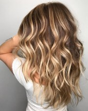 short hair ombre light brown