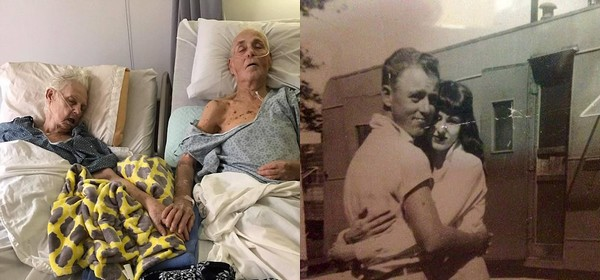 Elderly Texas Couple Married For 62 Years Passes Away While Holding Hands