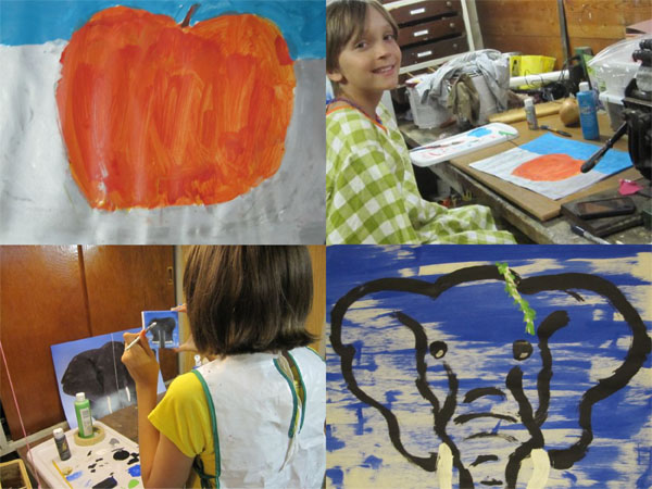 painting   the both and   shorts and longs