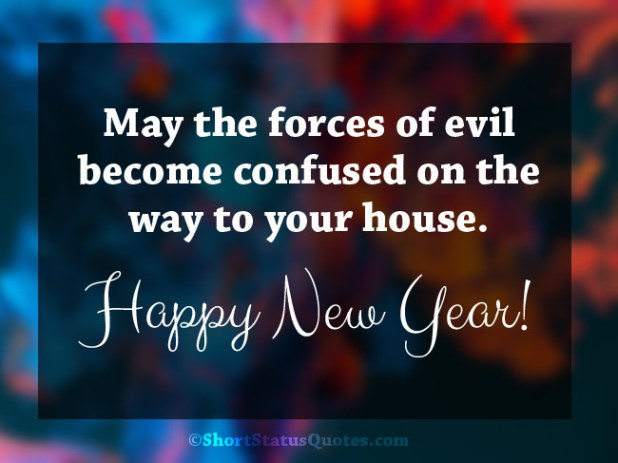 Funny New Year Wishes Status