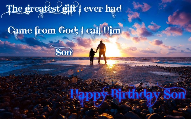 Happy Birthday Status Messages for Son